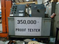 Proof Testing To 350,000 Lbs.