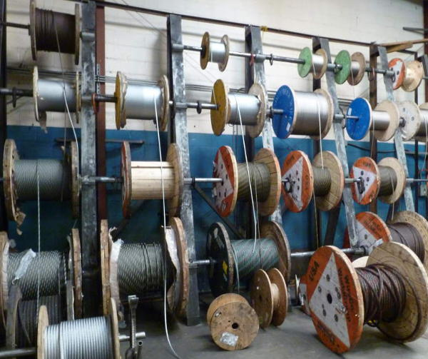 miles of wire rope